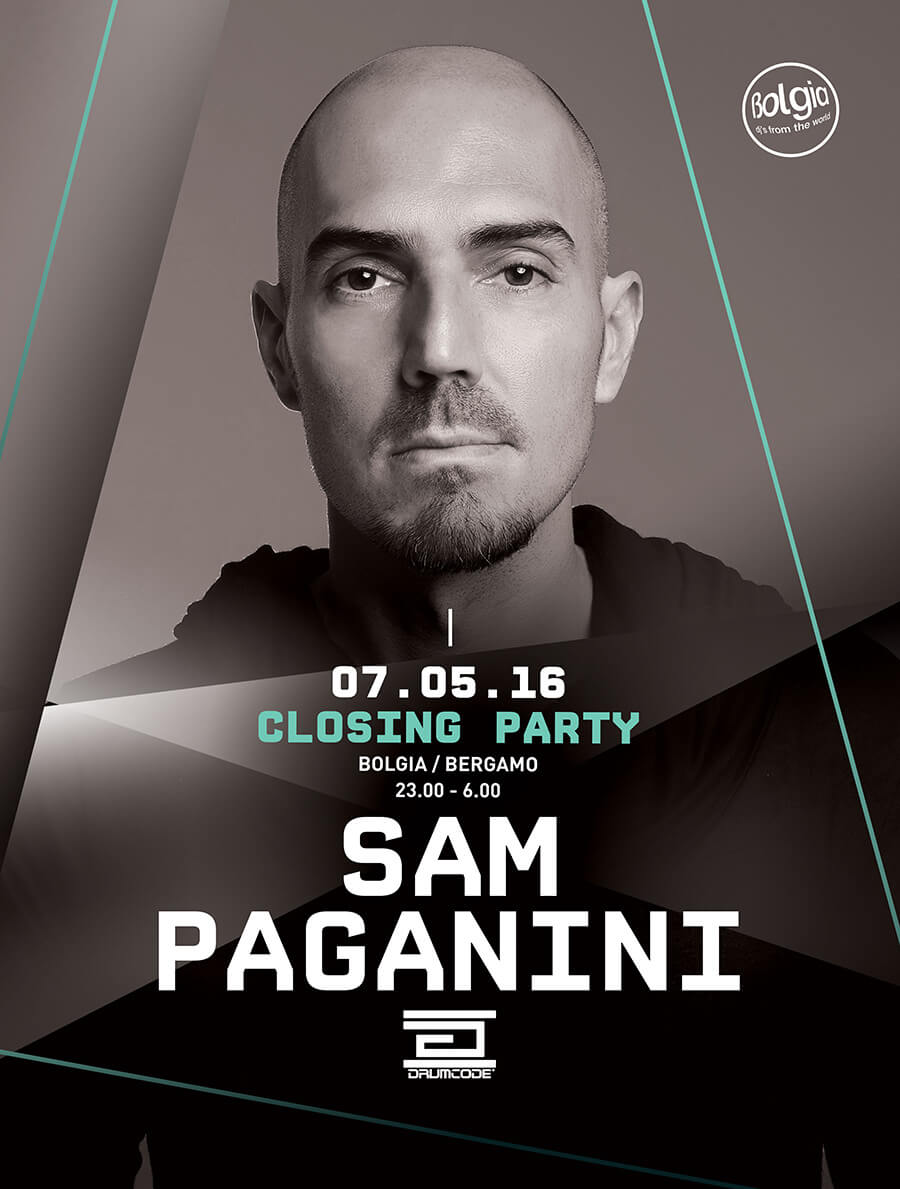 Sam Paganini @ Bolgia Closing party
