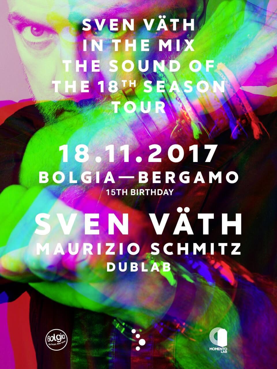 Sven Väth bolgia 18 novembre