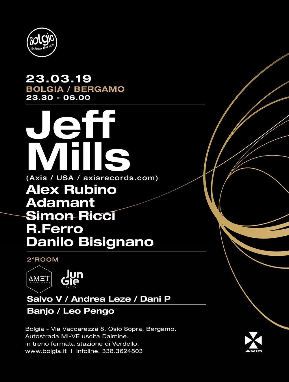 Bolgia Jeff Mills + Amet