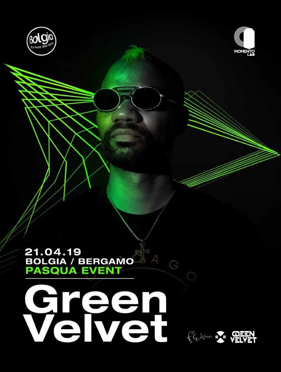 Bolgia Green Velvet