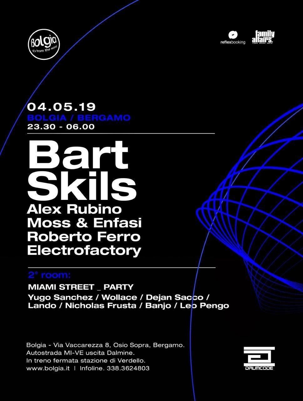 Bart Skils @ Bolgia