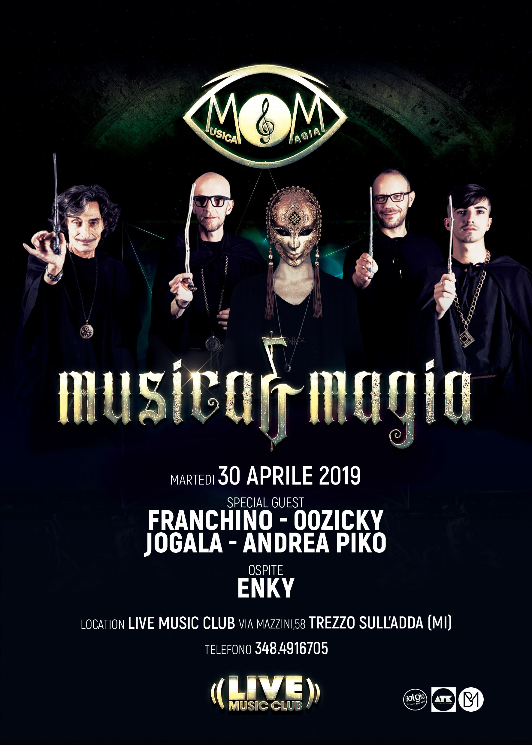 Musica&Magia @ Live Music Club