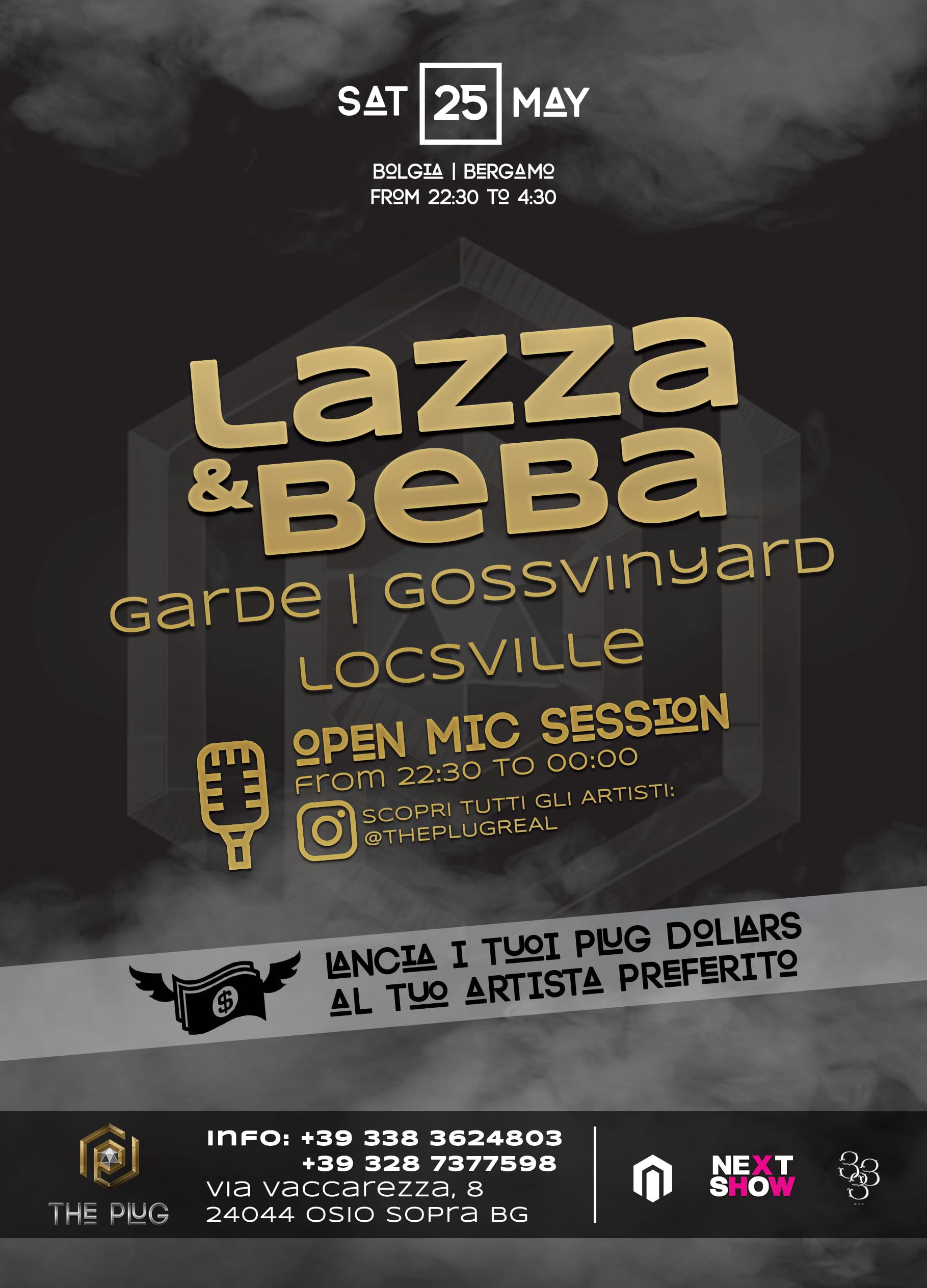 The Plug: Lazza & Beba @ Bolgia