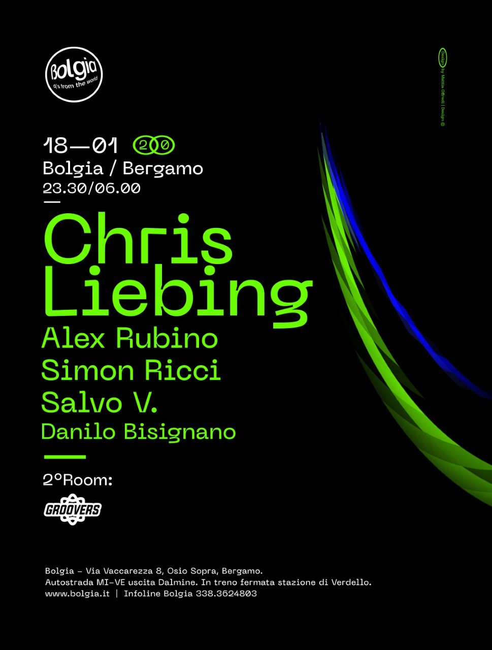 Chris Liebing @ Bolgia BG