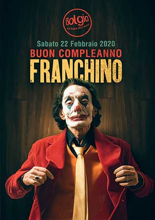 Buon Compleanno Franchino