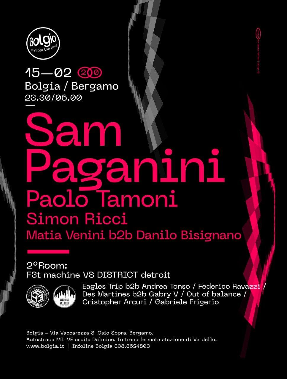 Sam Paganini @ Bolgia BG